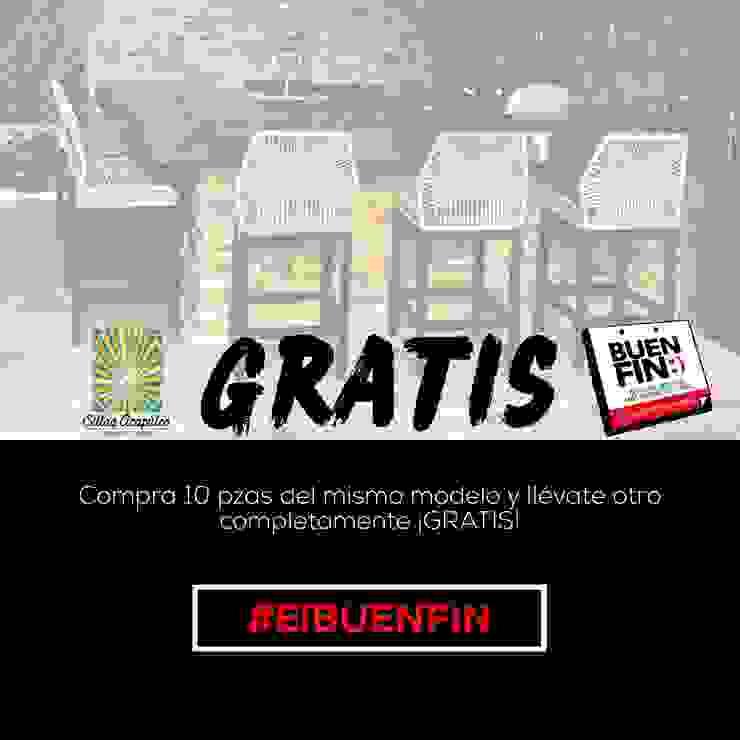 El Buen Fin llego!:  de estilo tropical por SILLAS ACAPULCO ESTILO RETRO , Tropical