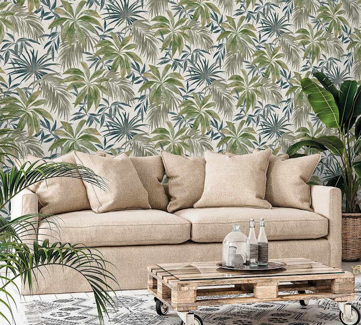 de style tropical par Decora Pro, Tropical Papier
