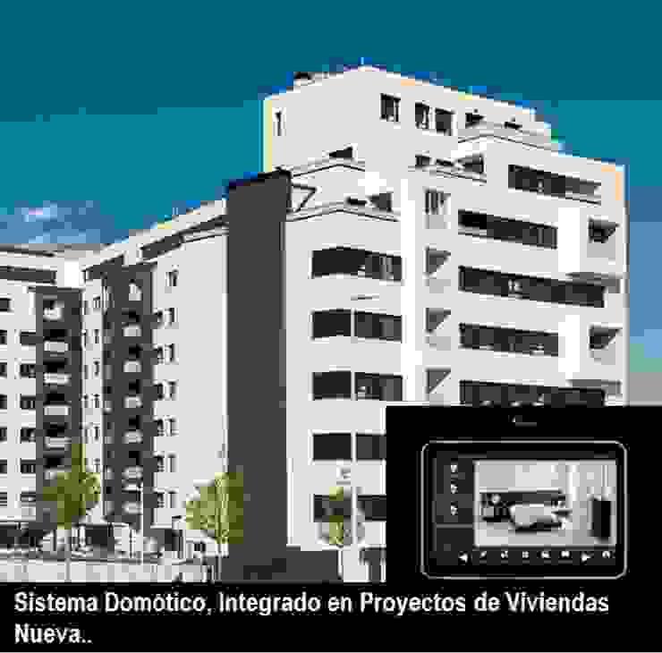 Domotica en edificios de apartamentos. de INTERDOMO INGENIERIA S.A.S