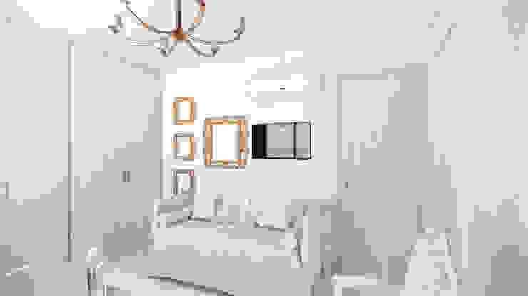Habitación Bebé. de DIKTURE Arquitectura + Diseño Interior Moderno Madera Acabado en madera