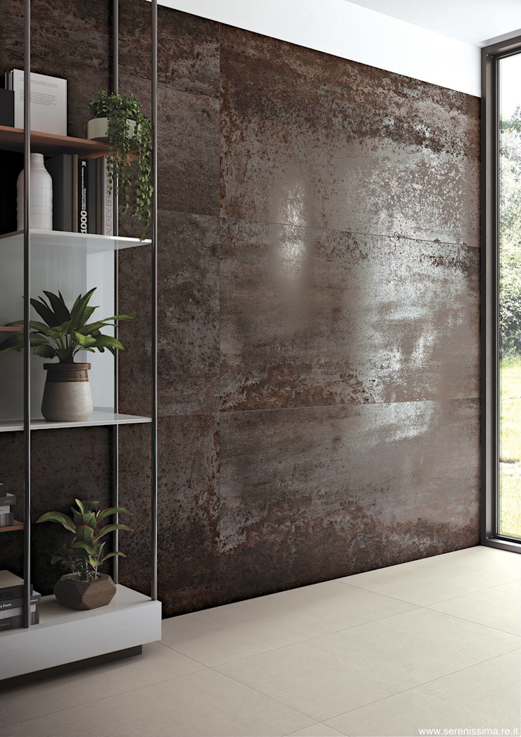 Dimensione Edilizia Eclectic walls & floors Tiles Metallic/Silver