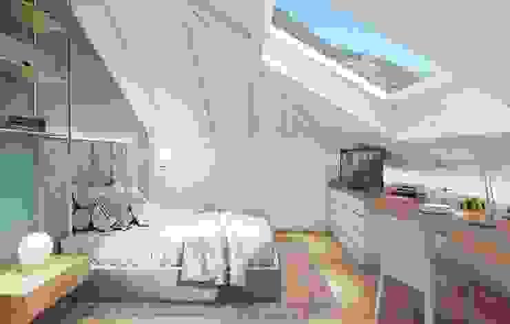 Feng Shui Studio Modern Bedroom