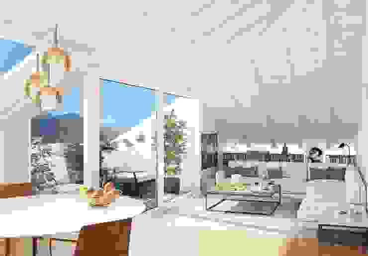 Feng Shui Studio Modern Living Room