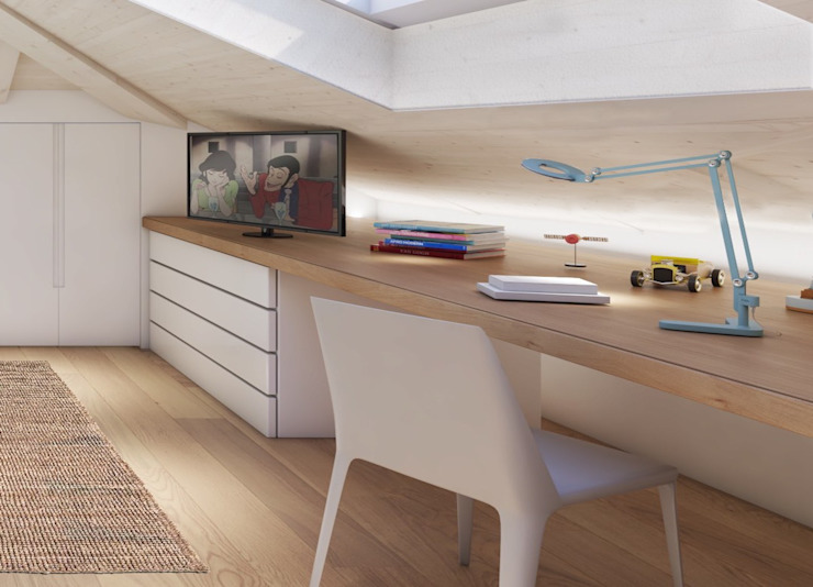 Feng Shui Studio Modern Study Room and Home Office