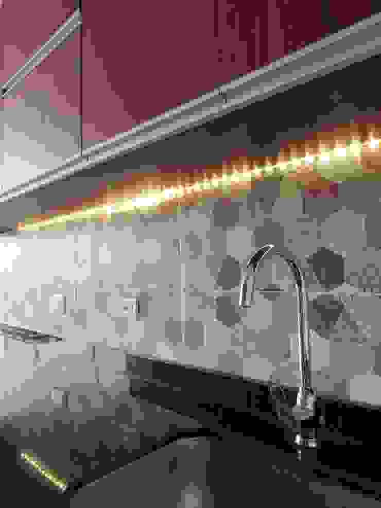 Resultado Diseño interior - cocina. de DIKTURE Arquitectura + Diseño Interior Moderno Granito