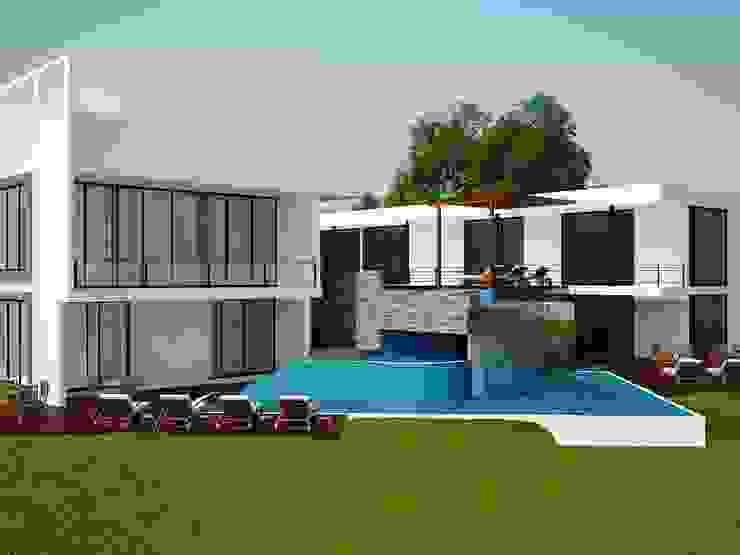Quinta de JARAMILLO B DESIGN Moderno