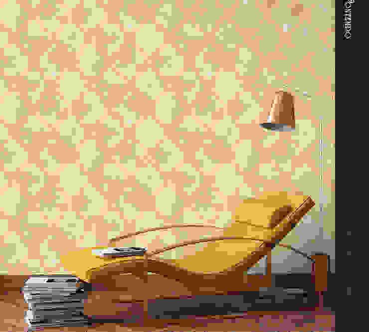 Papel Tapiz Decora Pro - Colección Contempo - Rhomb 572961-3 Decora Pro Paredes y pisosRevestimientos de paredes y pisos Papel Ámbar/Dorado