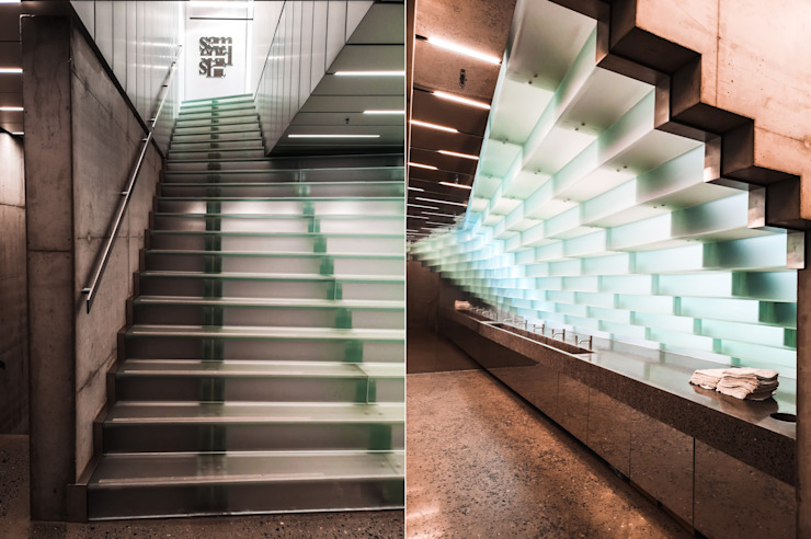 Glas - Fan Kistefos Siller Treppen/Stairs/Scale Moderne Museen Glas Transparent