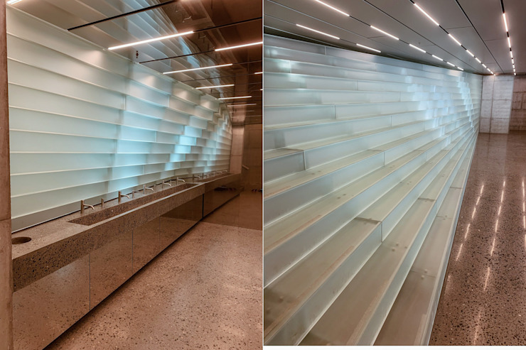 Glass Fan Kistefos Modern museums by Siller Treppen/Stairs/Scale Modern Glass