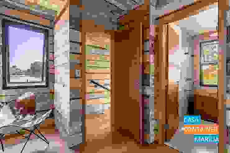Suíte Principal Quartos campestres por Casa Container Marilia - Barros Assuane Arquitetura Campestre