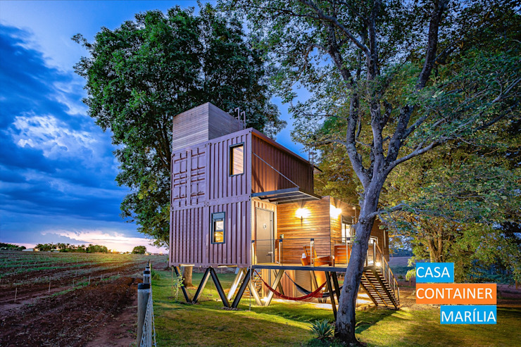 Country style house by Casa Container Marilia - Arquitetura em Container Country