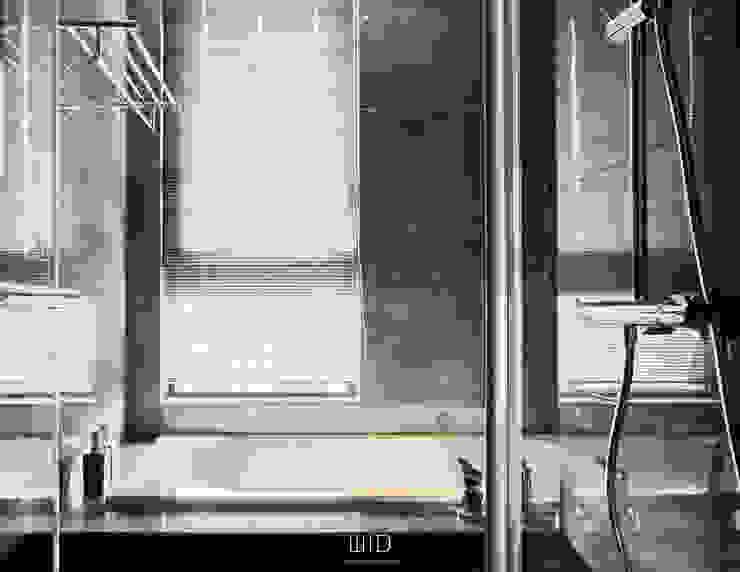 Living In A Unique Art 台北于宅 現代浴室設計點子、靈感&圖片 根據 WID建築室內設計事務所 Architecture & Interior Design 現代風