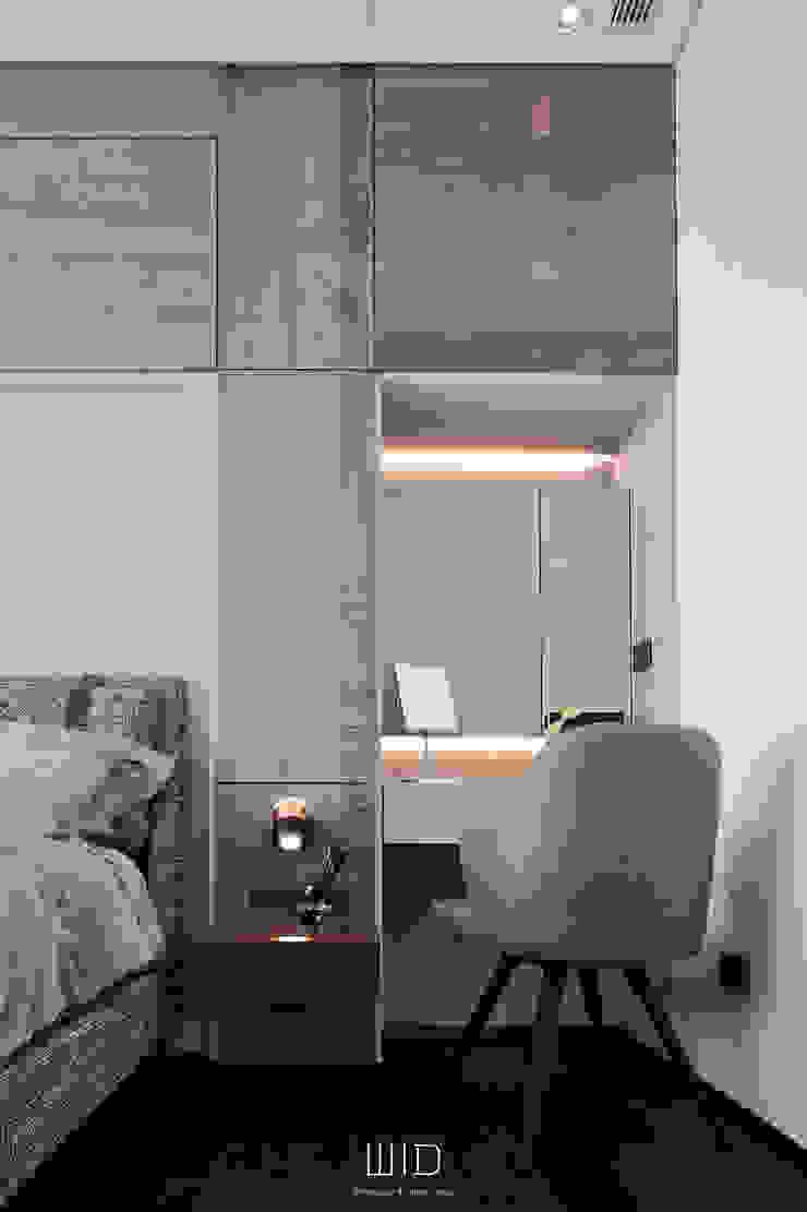 Living In A Unique Art 台北于宅 根據 WID建築室內設計事務所 Architecture & Interior Design 現代風