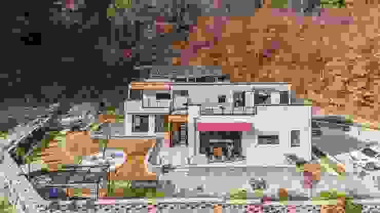 노출콘크리트, 풍경과의 만남 by 한글주택(주) 모던 콘크리트