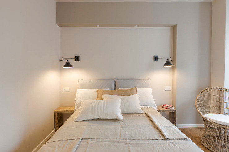 Camera singola Camera da letto moderna di GruppoTre Architetti Moderno