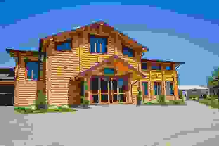 Rustic style gastronomy by STUDIO DESIGN КРАСНЫЙ НОСОРОГ Rustic Wood Wood effect