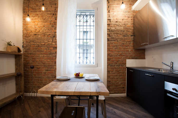 Comedores de estilo moderno de GruppoTre Architetti Moderno