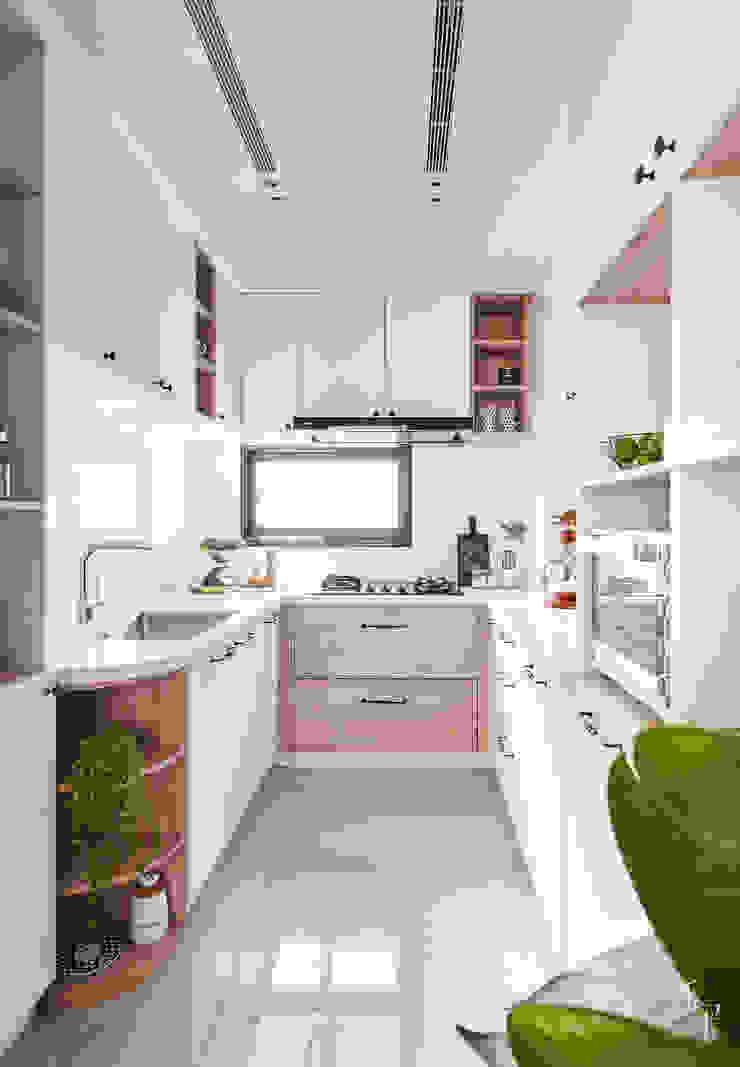 廚房 根據 禾宇室內設計 北歐風 MDF