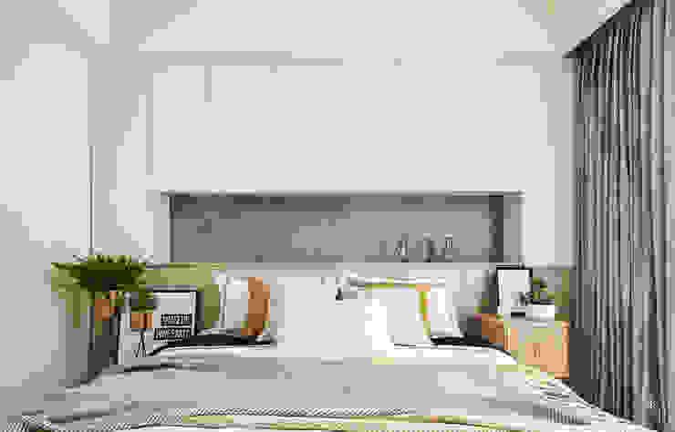 臥房 根據 禾宇室內設計 北歐風 MDF