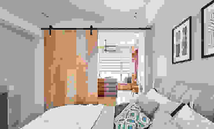 穀倉拉門 根據 禾宇室內設計 北歐風 木頭 Wood effect