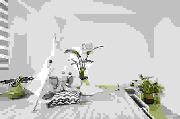 小孩房 根據 禾宇室內設計 北歐風 複合木地板 Transparent