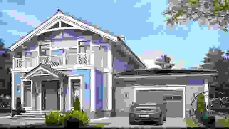 Minimalist house by Компания архитекторов Латышевых 'Мечты сбываются' Minimalist