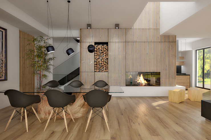 Modern living room by ArchSIDE Modern