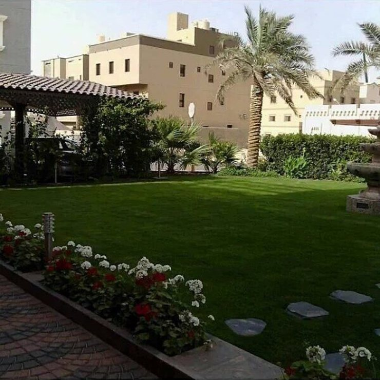 تصميم حديقة منزل مع الورود والاشجار 0565293598 تنسيق حدائق ابها وخميس مشيط Garden Accessories & decoration