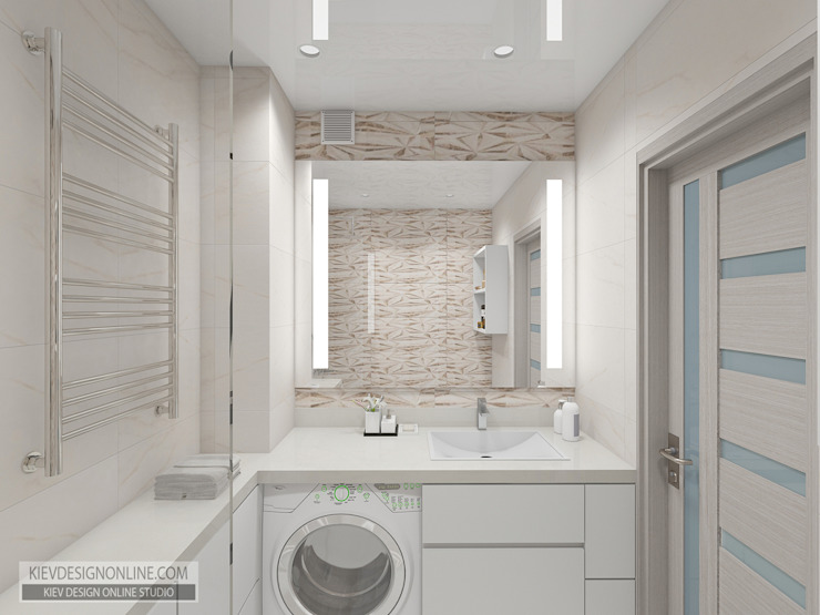 Modern Bathroom by Kiev Design Online Studio Modern
