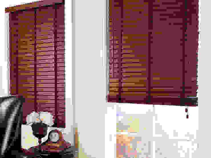 Persianas horizontales de madera / woods Persam persianas, cortinas y toldos Persianas