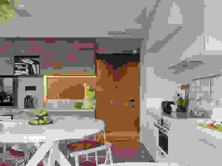 Scandinavian style kitchen by Vashantsev Nik Scandinavian