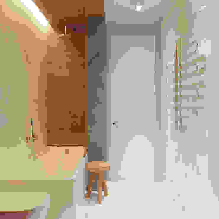 Scandinavian style bathroom by Vashantsev Nik Scandinavian