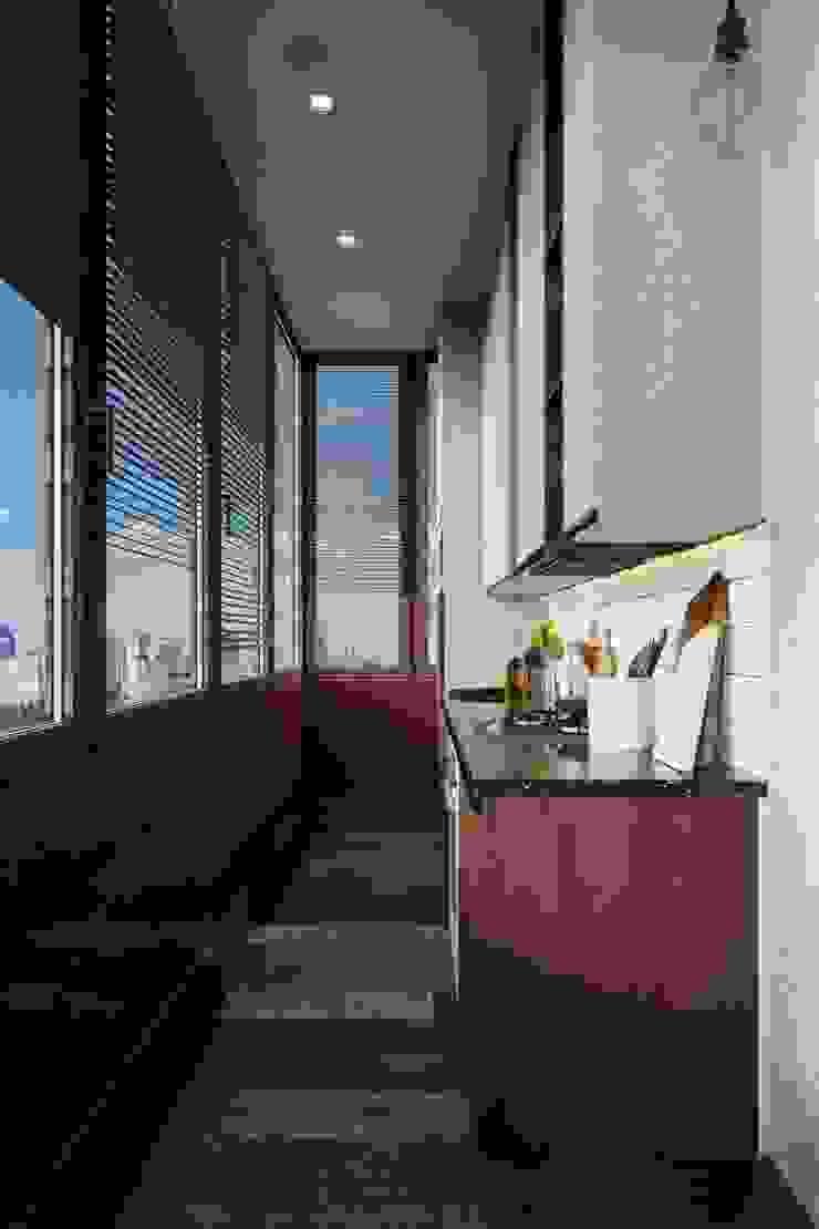 Industrial style kitchen by Vashantsev Nik Industrial