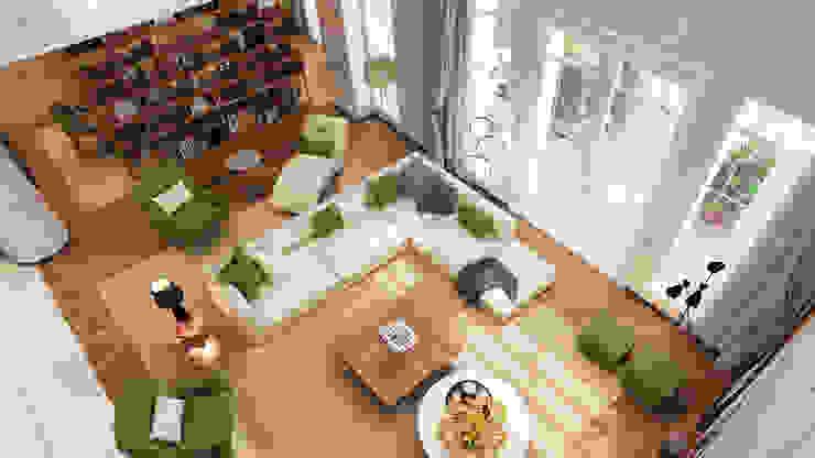 Projeto de interiores , Albufeira Salas de estar modernas por Alpha Details Moderno