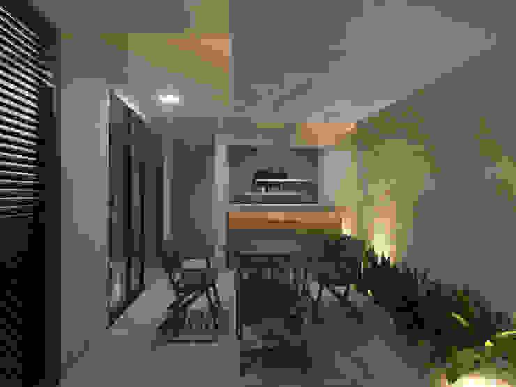 Punto Libre Arquitectura Modern Terrace
