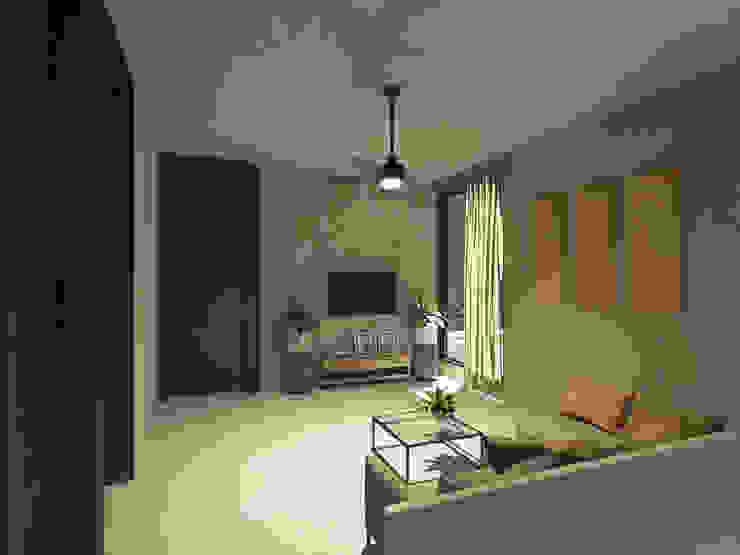 Punto Libre Arquitectura Modern Living Room