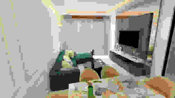 Living Room Modern living room by HC Designs Modern Plywood