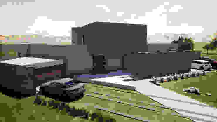 CASA EN LAS ROCAS DE SANTO DOMINGO de Casas del Girasol- arquitecto Viña del mar Valparaiso Santiago Mediterráneo Concreto