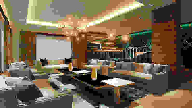 Living room Modern living room by HC Designs Modern Wood Wood effect