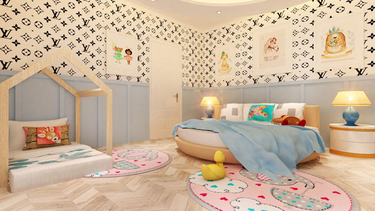young Girls Room by HC Designs Modern Plywood