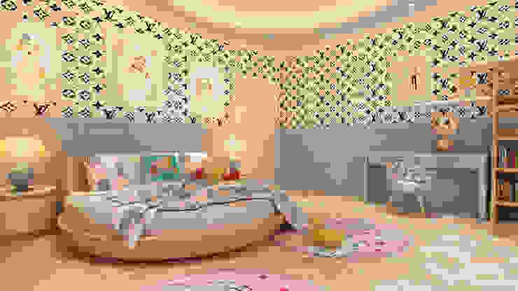 young Girls Room : modern  by HC Designs,Modern MDF