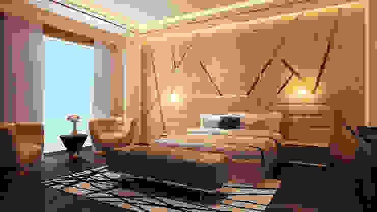 Master bedroom : modern  by HC Designs,Modern