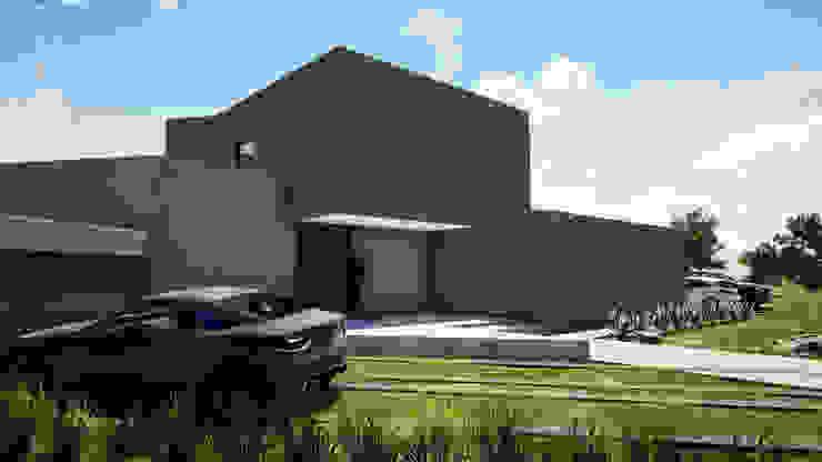 CASA EN LAS ROCAS DE SANTO DOMINGO de Casas del Girasol- arquitecto Viña del mar Valparaiso Santiago Mediterráneo Concreto reforzado