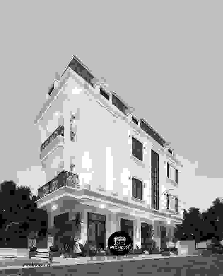 Thiết kế biệt thự 3 tầng bán cổ điển tại Mỹ Tho bởi NEOHouse