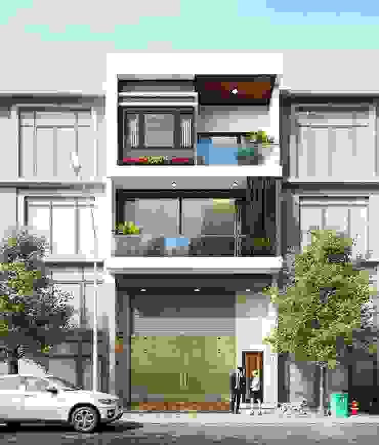 Xu hướng thiết kế nhà phố 3 tầng đẹp hiện đại trong năm 2020 bởi Thiết kế nhà đẹp ở Hồ Chí Minh