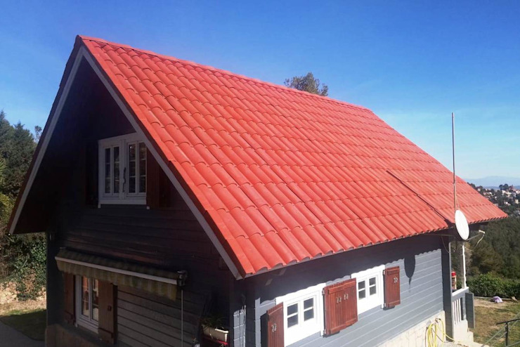 Roofeco System SL Gable roof Plastic