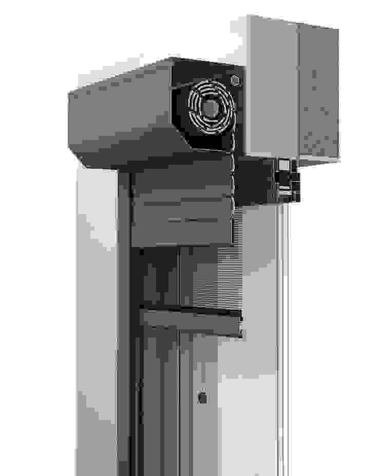 Vorbaurollladen von Szulzyk- Bauelemente Klassisch Aluminium/Zink