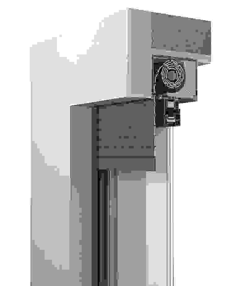 Aufsatzrollladen von Szulzyk- Bauelemente Klassisch Aluminium/Zink