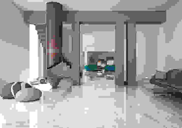 Tuscania S.p.A. Salon moderne Tuiles