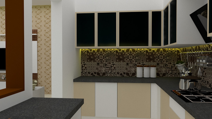 Turnkey interior designing by Pristine Decore